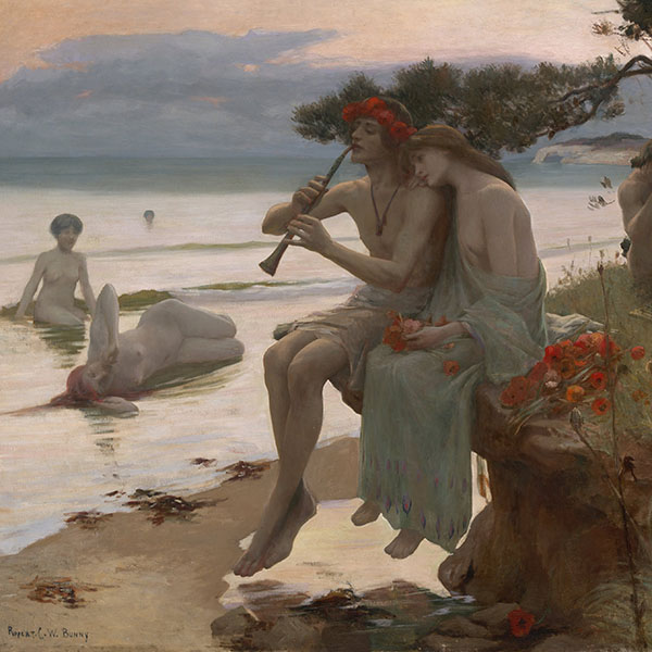 Oil Painting Reproductions of Rupert Bunny
