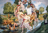 Rite of Spring By Rupert Bunny