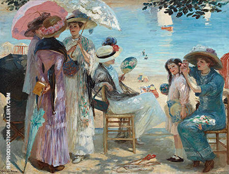 Summer Time 1907 By Rupert Bunny
