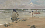 Mermaids 1891 By Rupert Bunny