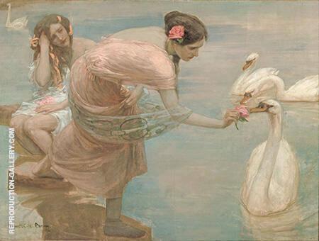 A Summer Morning 1897 By Rupert Bunny