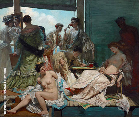 Summer Time II c1907 By Rupert Bunny