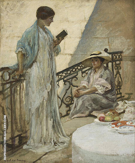 Women Reading By Rupert Bunny