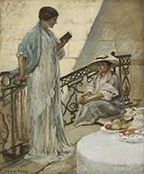 Women Reading By Rupert Bunny