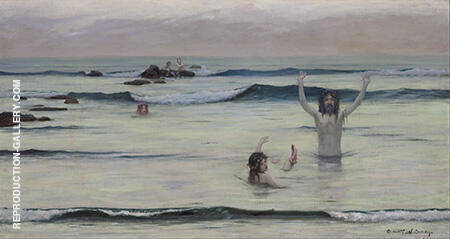 Tritons c1890 By Rupert Bunny