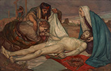 The Descent from the Cross c1898 By Rupert Bunny
