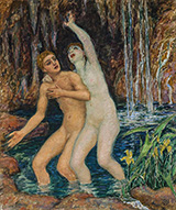The Nymph of Salmacis 1919 By Rupert Bunny