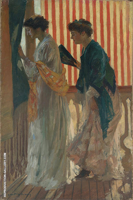 Who Comes? 1908 By Rupert Bunny