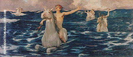 The Forerunners 1895 By Rupert Bunny