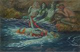 Mermaids Dancing 1896 By Rupert Bunny