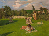 Summer Afternoon c1890-91 By Rupert Bunny