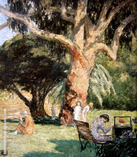Botanical Gardens Melbourne By Rupert Bunny