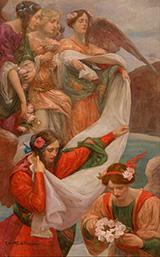 Angels Descending 1897 By Rupert Bunny