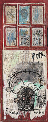 Pork By Jean-Michel-Basquiat