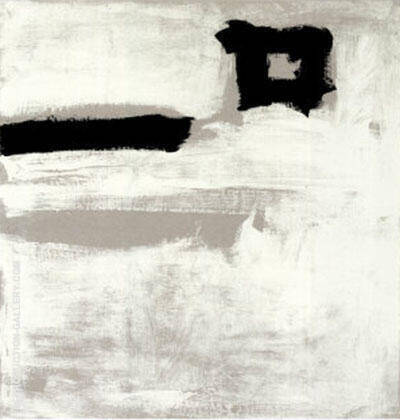 Untitled 1951 By Franz Kline