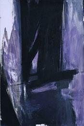 Mauve Torches 1960 By Franz Kline