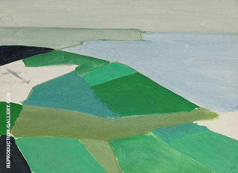 Cap Blanc Nez By Nicolas De Stael