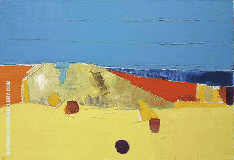 Agrigente 1 By Nicolas De Stael - Oil Paintings & Art Reproductions - Reproduction Gallery