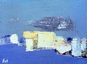 Mediterranee 1954 By Nicolas De Stael