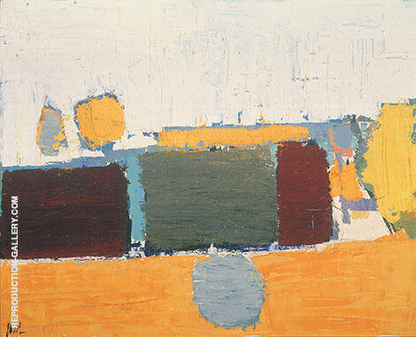 Vaucluse Landscape Painting By Nicolas De Stael - Reproduction Gallery