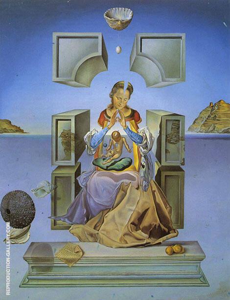 The Madonna of Port Ligiat By Salvador Dali