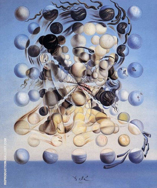 Galatea of the Spheres Painting By Salvador Dali - Reproduction Gallery
