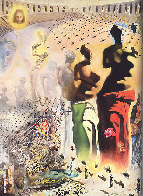 Reproduction of Hallucinogenic Torreador 1970 by Salvador Dali | Oil Painting Replica On CanvasReproduction Gallery