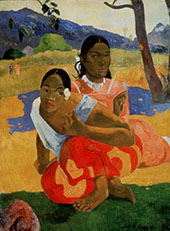 When Will You Marry? Nafea Faa Ipoipo 1892 By Paul Gauguin