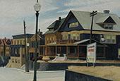 East Wind Over Weehawken 1952 By Edward Hopper