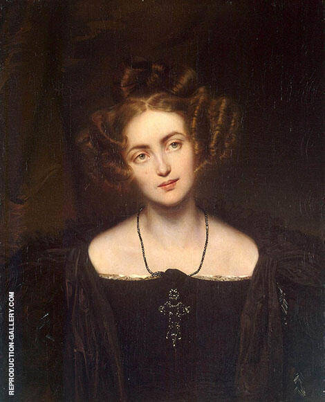 Henrietta Sontag 1831 Painting By Paul Delaroche - Reproduction Gallery
