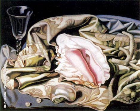 The Seashell 1941 Painting By Tamara de Lempicka - Reproduction Gallery