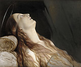 Louise Vernet the Artist's Wife on her Deathbed By Paul Delaroche