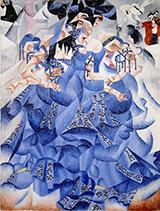 Blue Dancer Ballerina Blu 1912 By Gino Severini