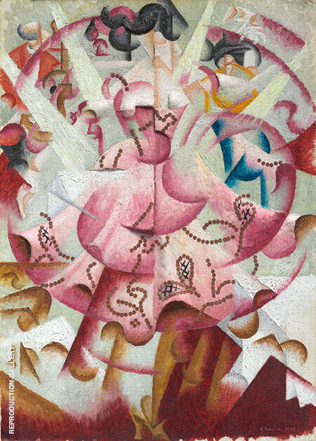 Dancer at Pigalle 1912 By Gino Severini