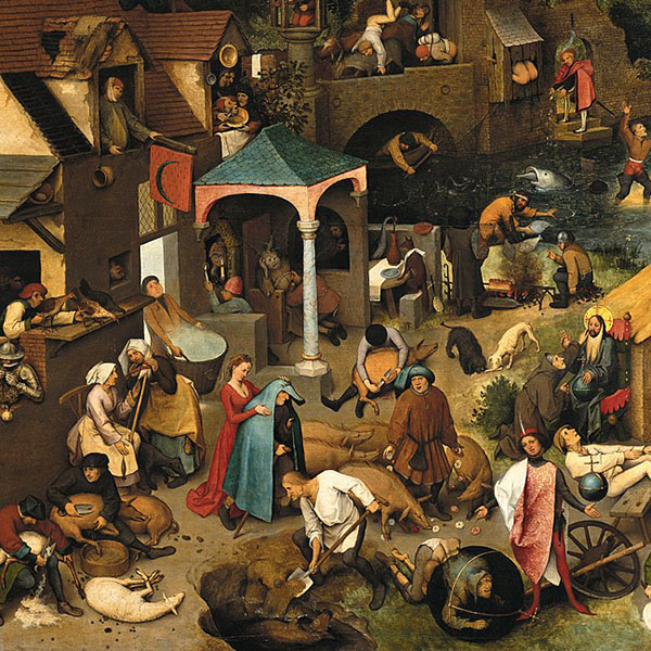 Oil Painting Reproductions of Pieter The Elder Bruegel