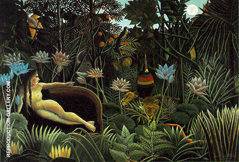 The Dream By Henri Rousseau