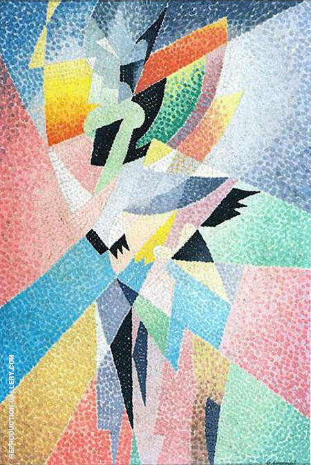 Dancers Painting By Gino Severini - Reproduction Gallery