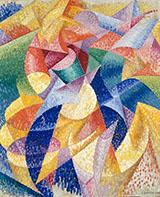 Sea Dancer (Mare Ballerina) 1914 By Gino Severini