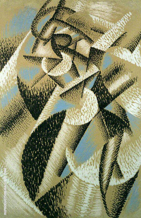 Ballerina and Sea Painting By Gino Severini - Reproduction Gallery