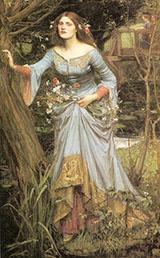 Ophelia 1910 By John William Waterhouse