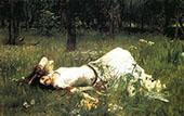 Ophelia 1899 By John William Waterhouse