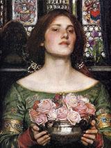 Gather Ye Rosebuds By John William Waterhouse