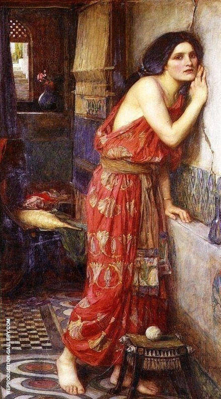 Thisbe 1909 Painting By John William Waterhouse - Reproduction Gallery