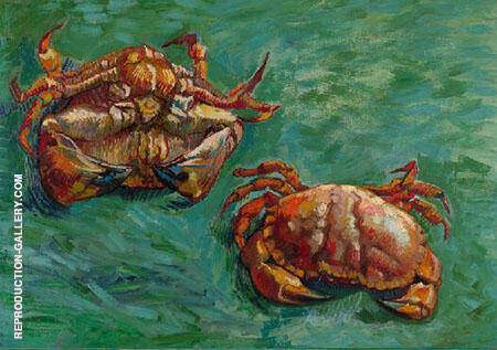 Two Crabs By Vincent van Gogh