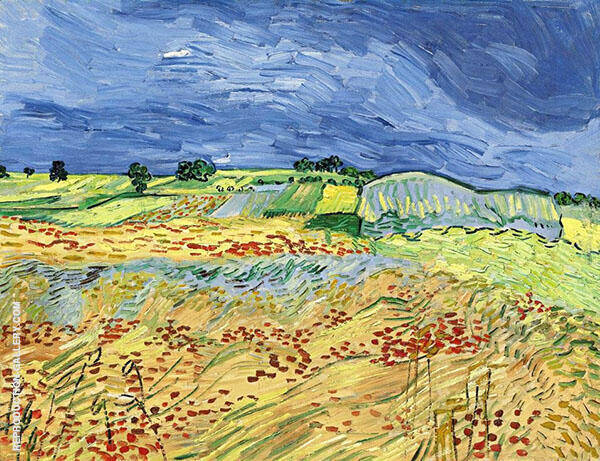 The Fields By Vincent van Gogh