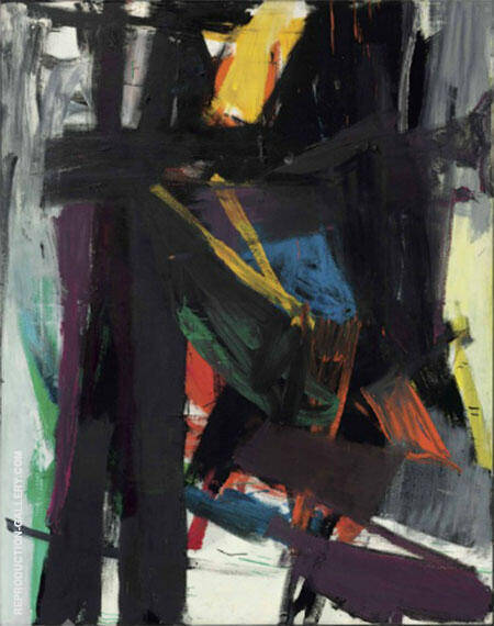 King Oliver By Franz Kline