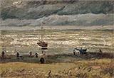 Seashore at Scheveningen By Vincent van Gogh