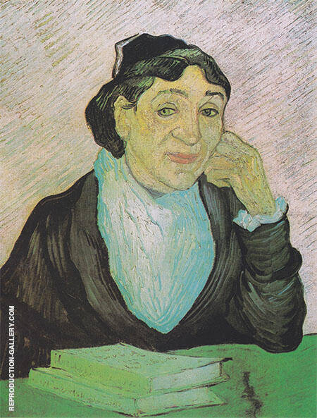 Portrait of Madame Ginoux February 1890 By Vincent van Gogh