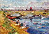 Pont Sur Le Canal Vigueirat 1888 By Vincent van Gogh