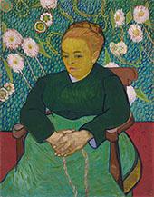 La Berceuse Augustine Roulin 1888 By Vincent van Gogh